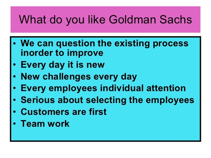 goldman sachs guide to dating The experience of its new york traders is just one early example of a transformation of goldman sachs,  your guide to what  and covers dating back to 1899.