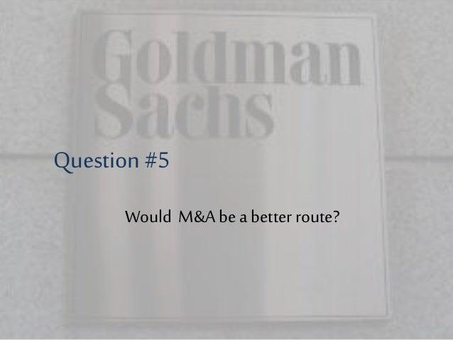 Goldman sachs ipo advisory transactions