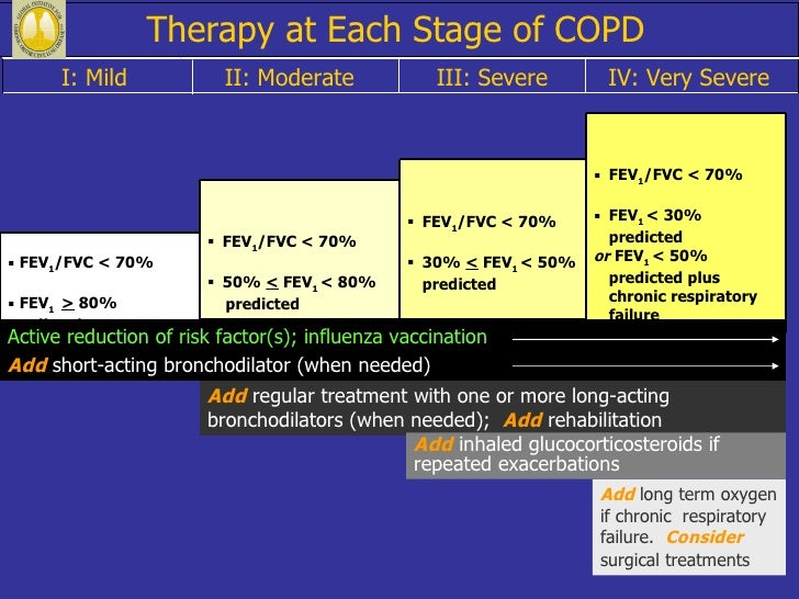 2018 Guidelines For Copd Management At Home