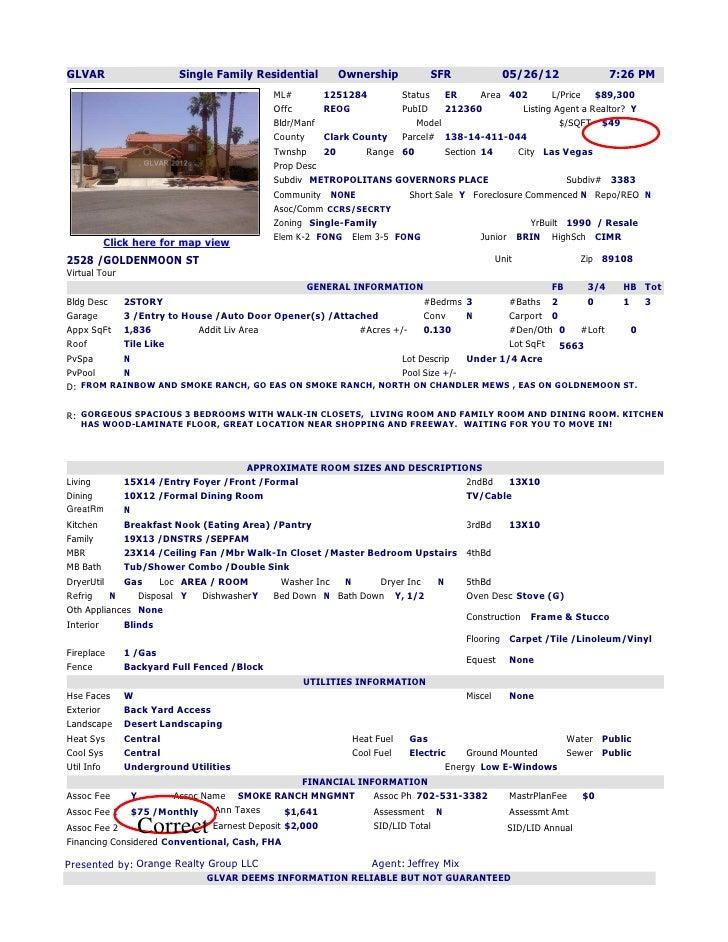 GLVAR                  Single Family Residential        Ownership          SFR            05/26/12              7:26 PM   ...