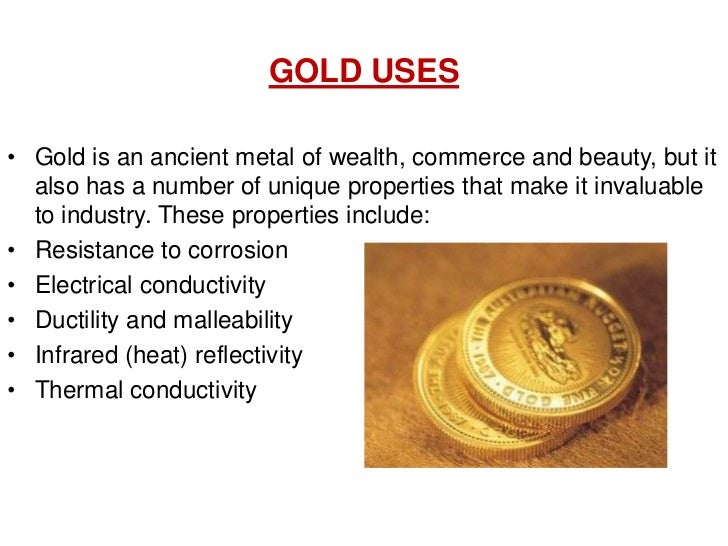 Gold Element Chemical Properties
