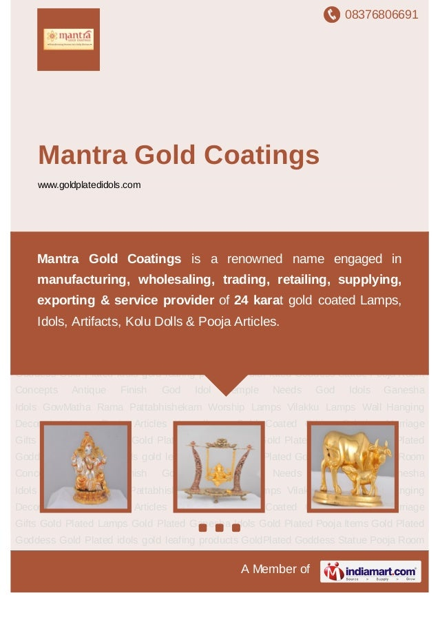 08376806691A Member ofMantra Gold Coatingswww.goldplatedidols.comGod Idols Ganesha Idols GowMatha Rama Pattabhishekam Wors...