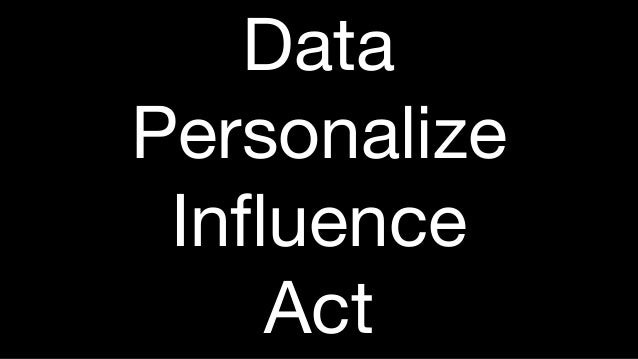 Data Personalize Influence Act