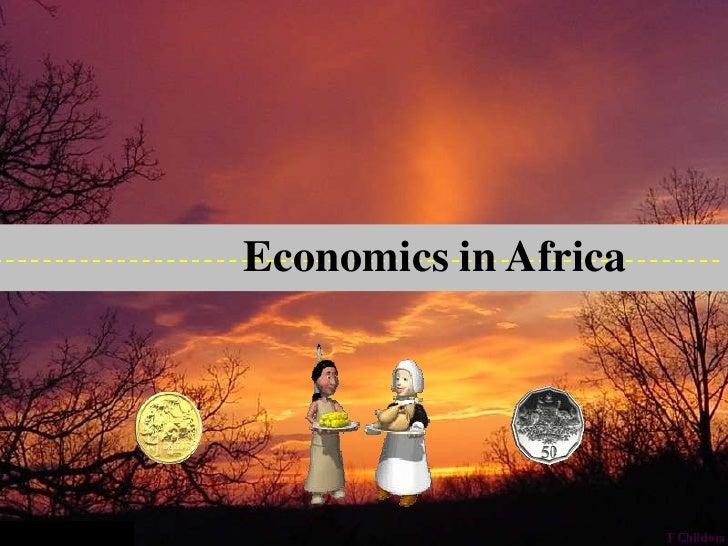 Economics in Africa<br />