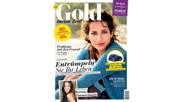 """""""Gold meine Zeit"""" die September-Ausgabe"""
