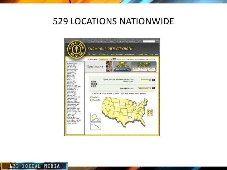 Golds Gym Online Market Analysis Slide 2