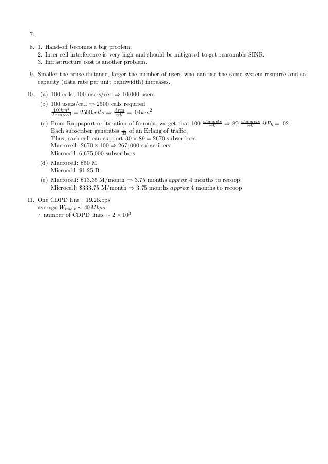 solution manual of goldsmith wireless communication rh slideshare net