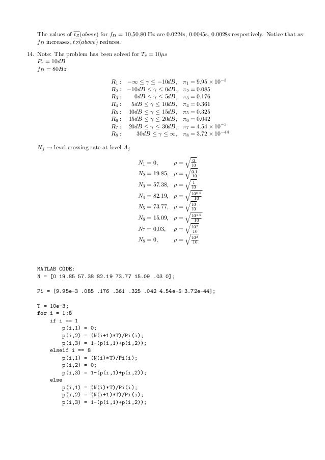 wireless communication goldsmith solution manual