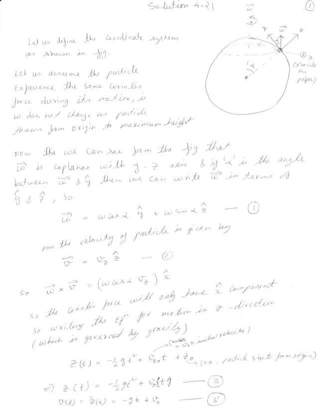 Goldstein solution 4.21