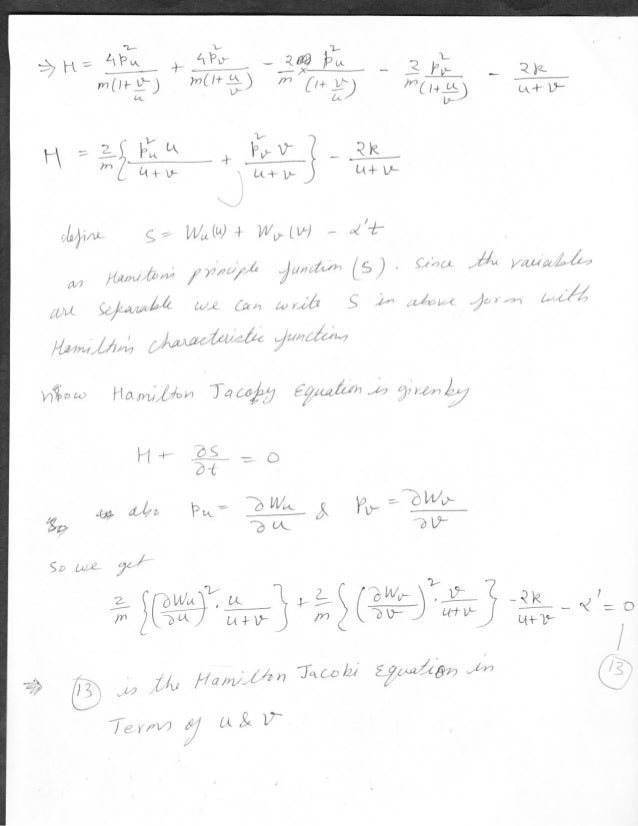 Goldstein classical mechanics homework solutions