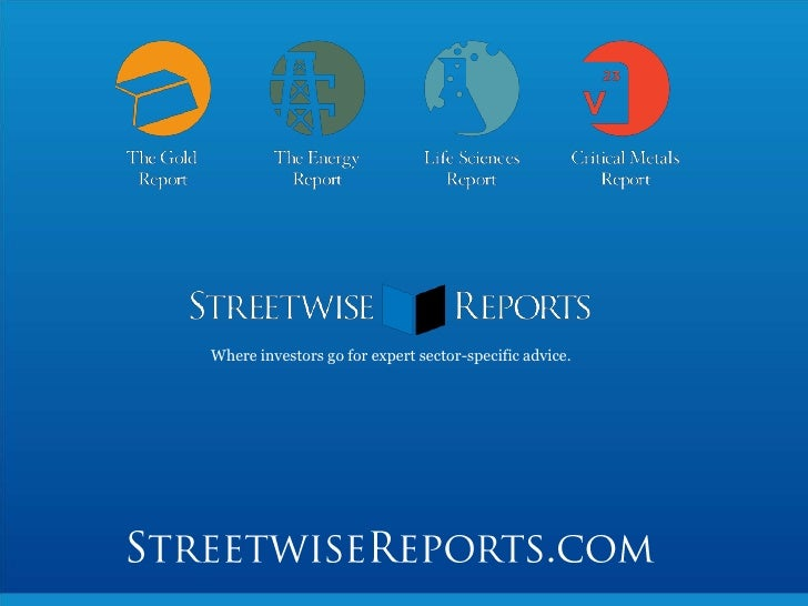 Where investors go for expert sector-specific advice.