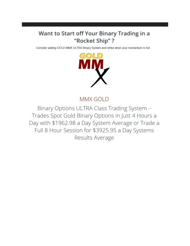 Ma settings for binary options