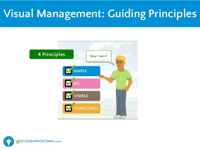 Visual Principles : Harnessing the power of s and visual management with