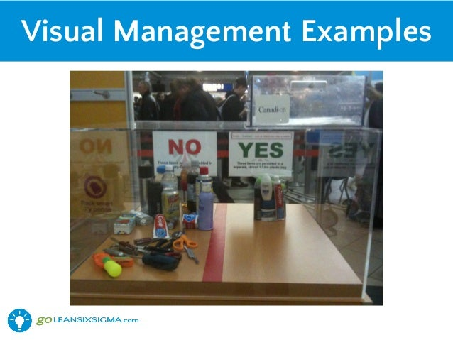 Harnessing The Power Of 5s And Visual Management With