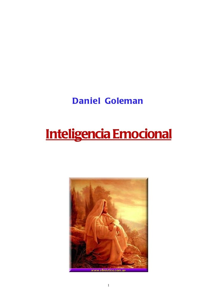 Daniel GolemanInteligencia Emocional          1