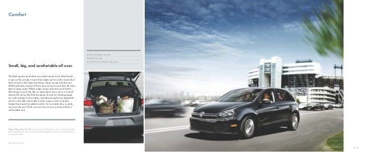 2012 VW Golf Brochure by Neil Huffman Volkswagen Louisville KY