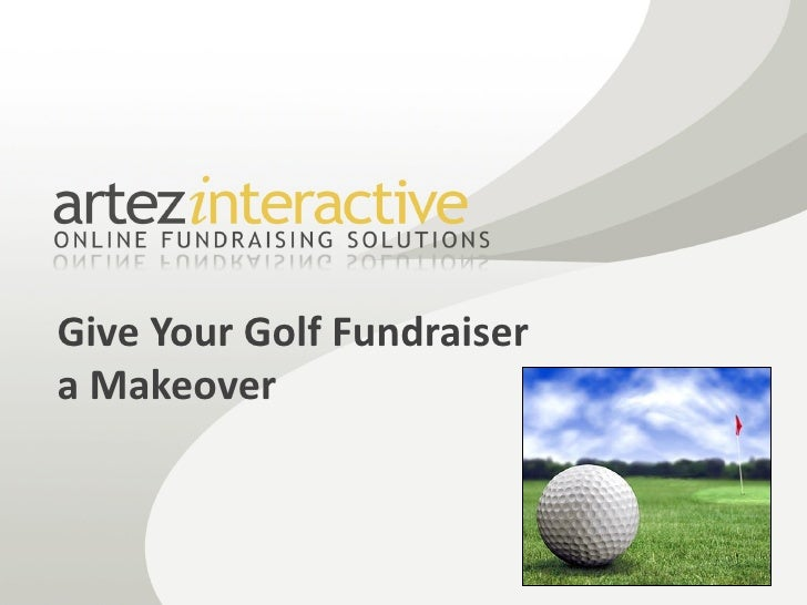 Give Your Golf Fundraiser a Makeover