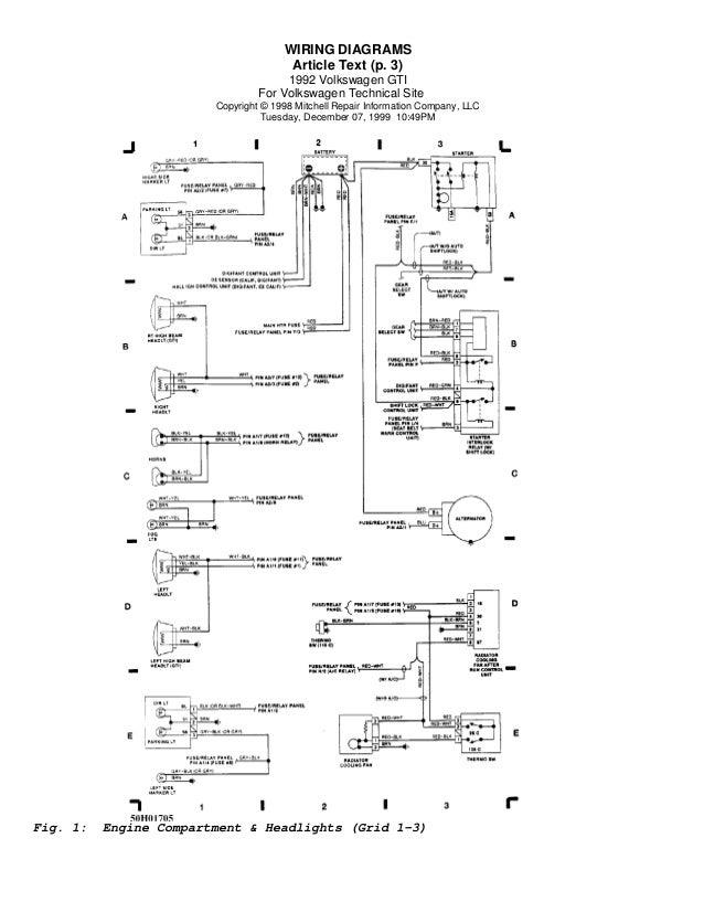 vw golf cabriolet wiring diagram wiring diagrams schematics rh o d l co 98 GTI VR6 Motor Parts 98 VW Golf GTI VR6 3 Doors