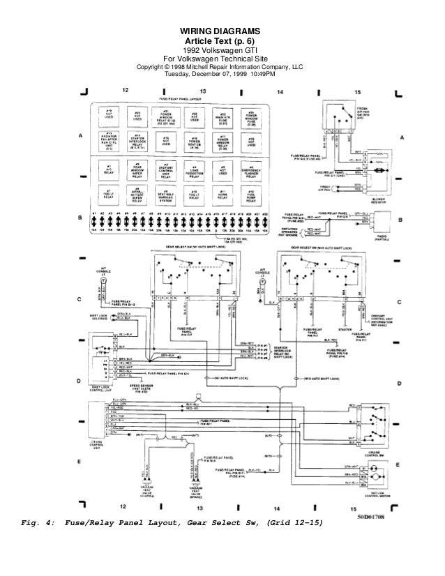 Vw golf mk wiring diagram efcaviation