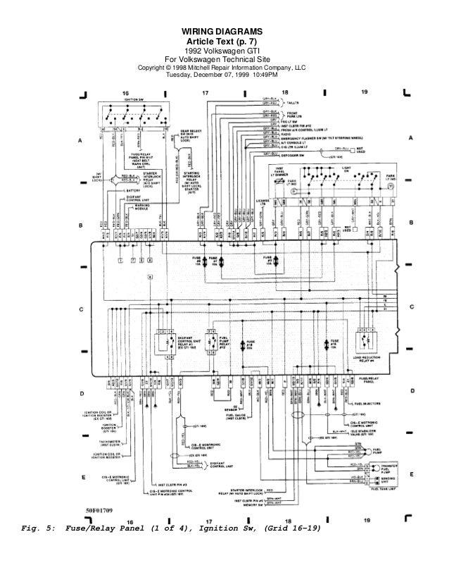 diagram of vw golf v ignition wiring diagrams search  102259 yamaha golf carts wiring diagram #13