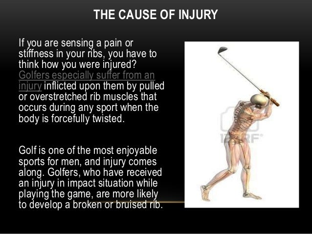 symptoms of cracked rib cage