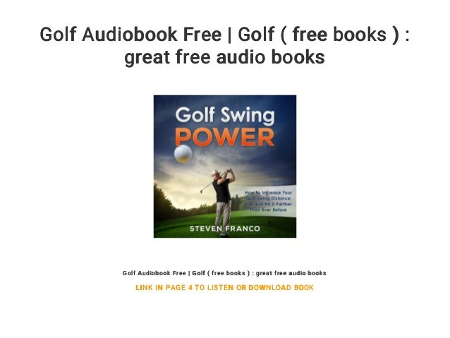 Golf audiobook free | golf ( free books ): great free audio books.
