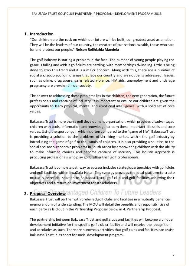 Golf clubs presentation proposal development program 2016 contact details 3 bakusasa trust golf club spiritdancerdesigns Images