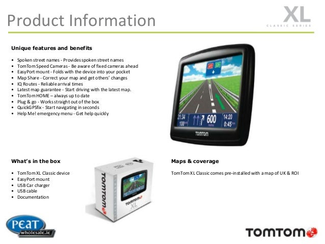 Coupon tomtom map
