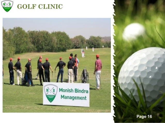 Golf event by mbm