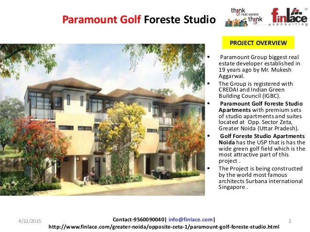 Studio Apartment Noida paramount golf foreste studio apartments, located at greater noida. o…