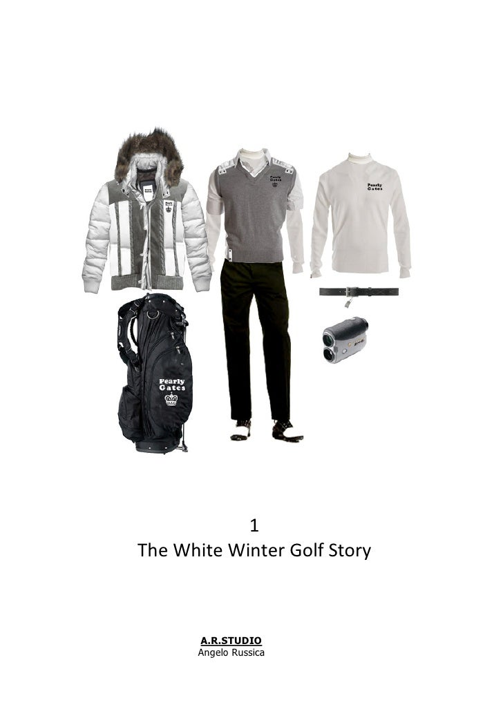 1 The White Winter Golf Story           A.R.STUDIO        Angelo Russica