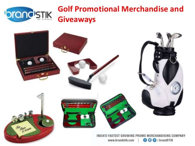 golf promotional merchandise and giveaways