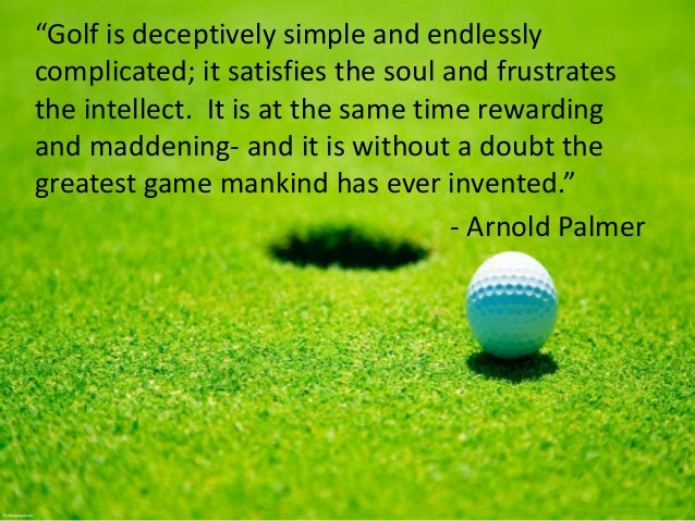 Quotes About Golf Prepossessing Inspirational Golf Quotes