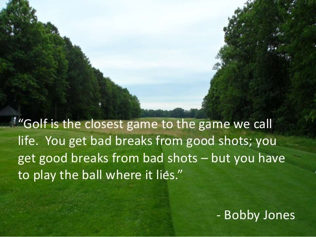 Inspirational Golf Quotes Impressive Golf Quotes About Life