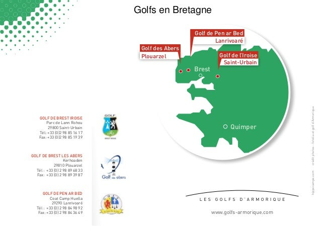 Golfs en Bretagne                                                   Golf de Pen ar Bed                                    ...