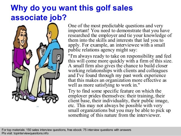 golf sales associate interview questions and answers golf assistant jobs - Golf Assistant Jobs