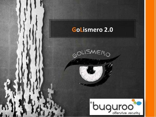 GoLismero 2.0