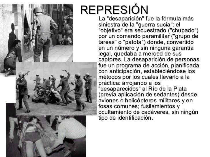 repression durante la dictadura military argentina warez