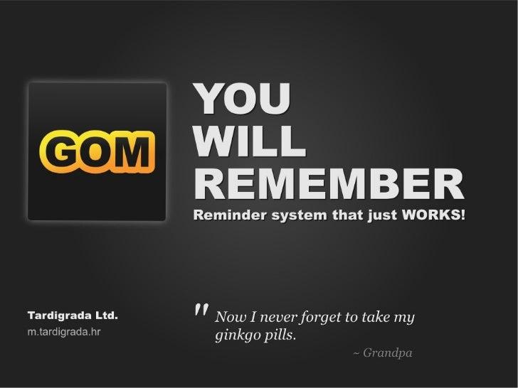 GOM Reminder Nokia