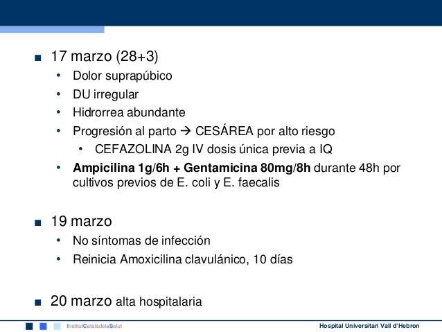 Antibioterapia En La Rotura Prematura De Membranas Rpm Y Riesgo De