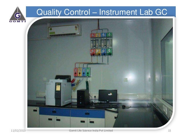 Gomti life sciences India Pvt Ltd -Facility Photographs