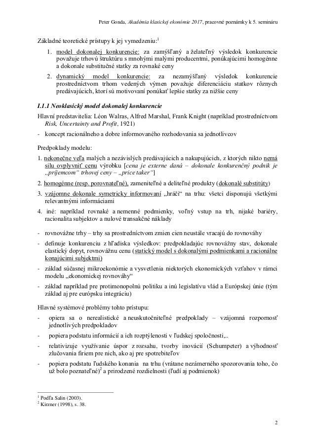 a92ab52ea Peter Gonda: Konkurencia, regulácia a európska ekonomická integrácia