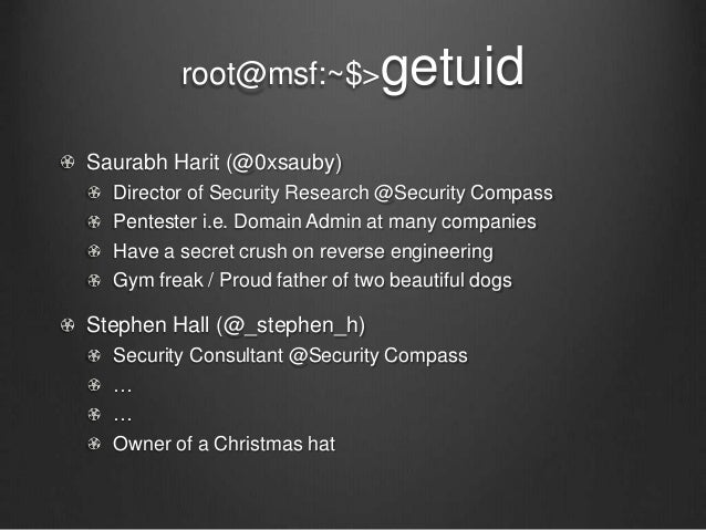 Gone in 60 minutes – Practical Approach to Hacking an Enterprise with Yasuo Slide 2