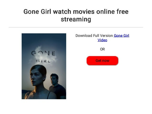 Gone Girl Online Stream