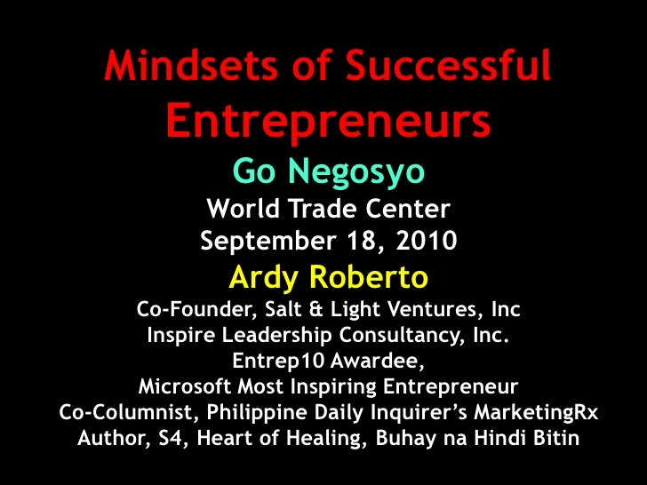 Gonegosyo wtc-orig-mindsets of entreps-2010-ardy roberto
