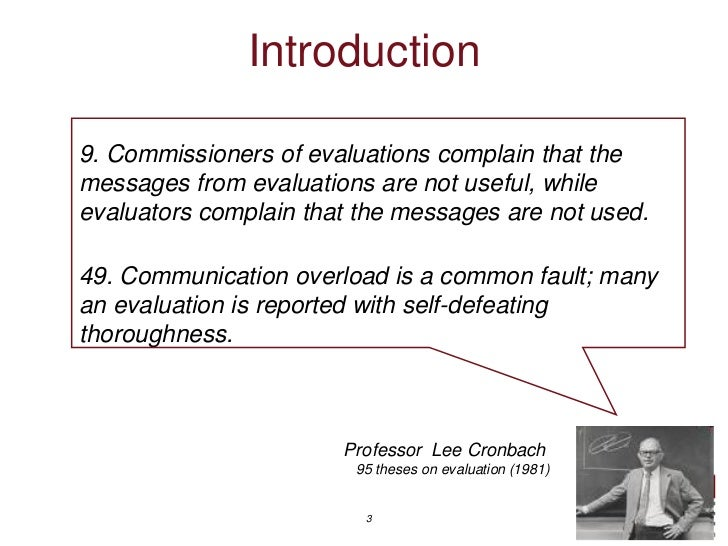 Seven new ways to present evaluation findings Slide 3