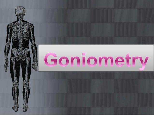 Goneometry of lower limbb Slide 2