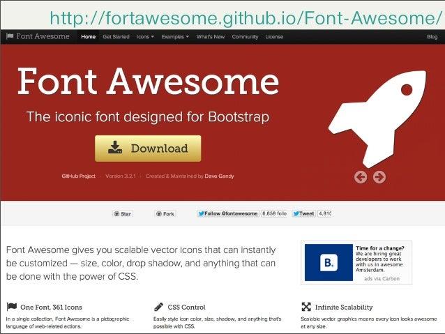 Fortawesome Git Hub (Fortawesome.github.io) full social ...