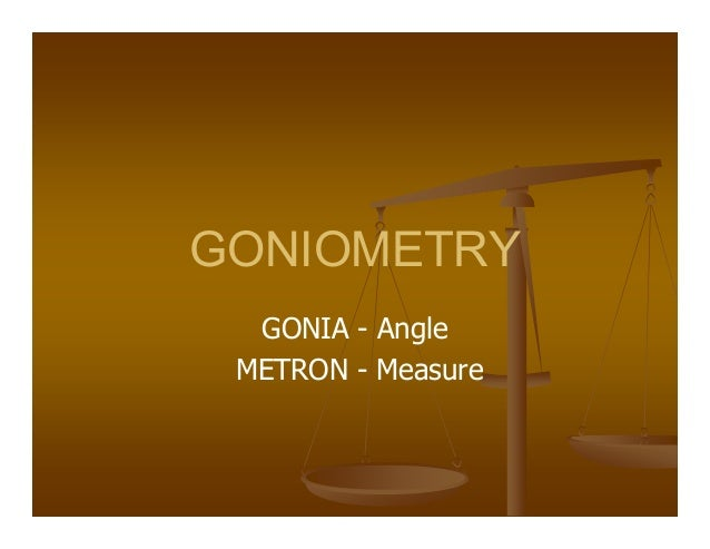 measurement of joint motion a guide to goniometry pdf