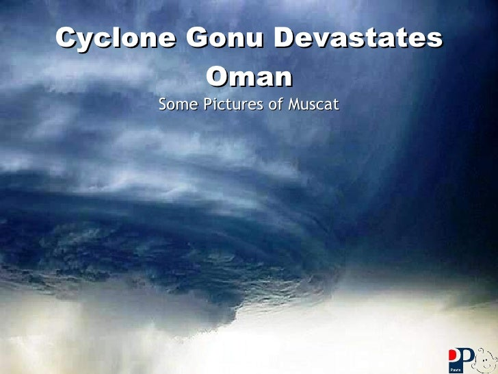 Cyclone Gonu Devastates Oman Some Pictures of Muscat